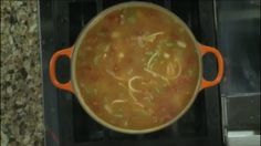 Pasta and Bean Soup Thursday, February 18, 2016