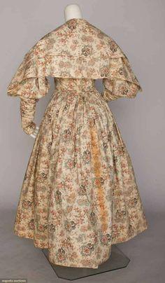 Augusta AuctionsGIRL'S DAY DRESS & PELERINE, 1837-1840