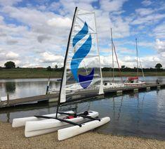 Sailing Kayak, Outrigger Canoe, Diy Boat, Boat Design, Kayaks, Catamaran, Sailboats, Boating, Workshop