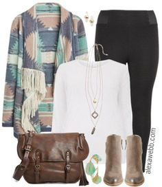 9987f279750 Plus Size Fashion - Plus Size Leggings Outfit - Alexa Webb - alexawebb.com