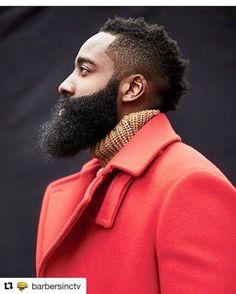 #Repost @barbersinctv with @repostapp BeardSeason @jharden13...