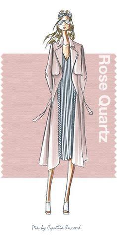 #1: Rose Quartz | Official 2016 Pantone Color Of The Year | cynthia reccord. #rosequarz #pantoncoloroftheyear