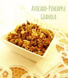 avocado recipe with pineapple pumpkin seeds