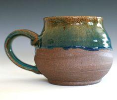coffee mug - pottery - Kazem Arshi - Etsy