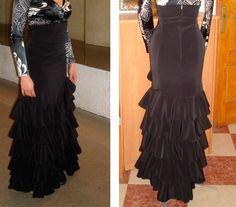 Make a Dress for Flamenco Dancing » Flamenco Skirt Pattern Carmen