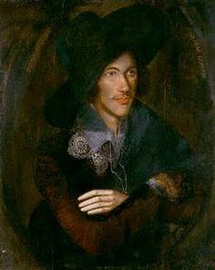 Portrait of John Donne, c. 1595....O, those metaphysical poets!