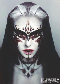 Картинки по запросу хэллоуин макияж