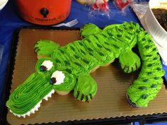 easy alligator cakes
