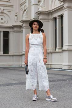Street style at the 2016 Virgin Australia Melbourne Fashion Festival: