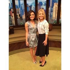 Lucy Hale looks adorable in this dress. | Pretty Little Liars