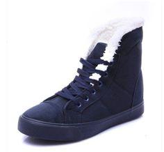3f90fac406a Dámské zimní zateplené boty s kožíškem MODRÉ – SLEVA 70% a POŠTOVÉ ZDARMA  Na tento produkt se vztahuje nejen zajímavá sleva