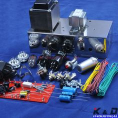 5F1 Tweed Champ 60S Guitar Tube Amp Amplifier Kit & Chassis DIY $189~$230