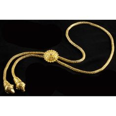 Gold and Ruby Lariat, Michalis Sold $11,000.