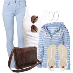 """""""Baby Blue"""" by wishlist123 on Polyvore"""