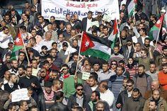 Les manifestants jordaniens ne veulent plus du roi