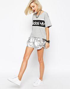 adidas+Originals+Metallic+Shorts