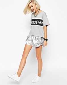 Adidas Originals - Short métallisé