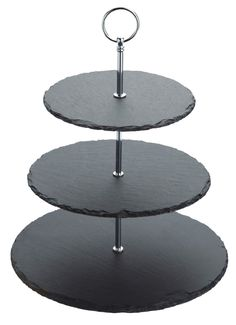 Master Class Artesà Slate 3-Tier Cake Stand / Serving Set: Amazon.co.uk: Kitchen & Home