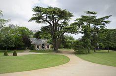 Château de Brissac, Brissac-Quincé, Maine-et-Loire . Parc