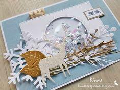 20171113_140025 Christmas Carol, Diy Christmas, Holiday, Shaker, Idee Diy, Punch Art, Table Decorations, Cards, Card Making