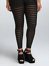 Shadow Stripe Leggings,