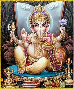 Shiva Art, Ganesha Art, Shiva Shakti, Hindu Art, Jai Ganesh, Ganesh Statue, Shree Ganesh, Ganesha Pictures, Ganesh Images