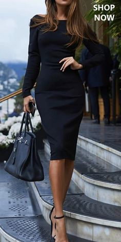 Pin on Γυναικεία μόδα Product number brand name Sheheaven Color Black season autumn,summer,spring Collar Round neck Material Polyester Sleeve Length Long sleeve style fashion Wearing occasion Night club Size S M L XL Skirt length (inch) Waistline (inch) Black Women Fashion, Look Fashion, Autumn Fashion, Womens Fashion, Fashion Trends, Fashion Ideas, High Fashion, Fashion Tips, Robe Bodycon