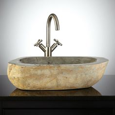 Add A Shower Without Shower Ring   With Hand Shower   Chrome. Vessel SinkNatural  Stones