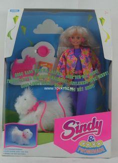 Afbeeldingsresultaat voor sindy doll 90s dog