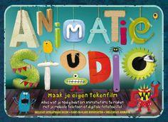 Animatie Studio – maak je eigen tekenfilm is meer dan alleen een boekje over animaties maken. Het is een doos met daarin allemaal spullen om je eigen animatie te maken. Het doosje is het toneel waa…