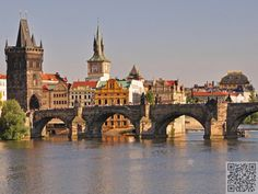 4. Walk the #Charles Bridge in #Prague, Czech #Republic - 31 Things to do in #Europe before You Die ... → #Travel #Place