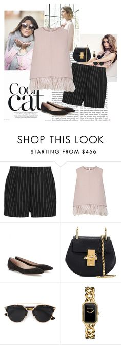 """""""Granny Flats."""" by laurenmaf on Polyvore featuring Nuevo, STELLA McCARTNEY, The 2nd Skin Co., Chloé, Christian Dior, Chanel, women's clothing, women's fashion, women and female"""