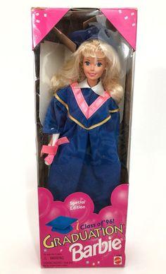 Graduation Barbie Class of '96 1996 in Box  | eBay