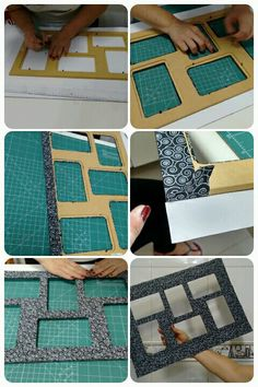 ~ Porta retrato com tecido autocolante. Picture Frame Crafts, Picture Frames, Diy Para A Casa, Paper Frames, Cardboard Crafts, Diy Home Crafts, Diy Photo, Diy Frame, Diy Projects