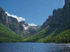 Western Brook Pond, Gros Morne National Park, Newfoundland!