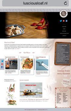 Onze website Www.lusciousloaf.nl #brood #mooivakbakker