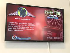 Digital Signage for Car Dealerships is a modern visual communications tool that when used can help you increase your bottom line. Car Dealerships digital signage can be used as a marketing tool to emphasize their dealer brand, upsell service packages, and spotlight current sales.