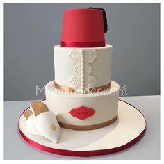 Gateau pour une circoncision  #cake#circoncision#sugarart#sugar#marocco#maroc#instacake#oriental#pastry#patisserie#mycake#babouche#gateaucirconcision#yummy#cakedesign#cakeporn#foodporn