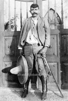 Old Photo.  Mexican Revolution - Eufemio Zapata