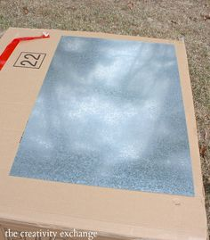 Galvanized tin metal sheet 36 x 24