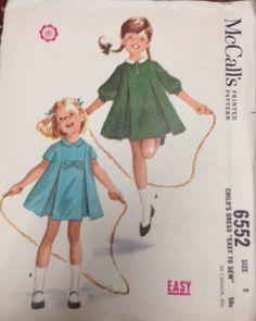 McCall's 6552 Vintage Child's Dress dated by CostumeGalleryNewpor