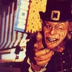 It just dawned on me that every leprechaun I have ever known has been a homosexual.