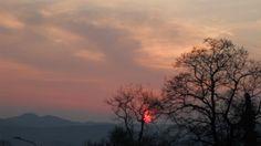 Foto di Eliza Bielesz Tramonto a Canale Monterano