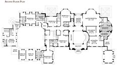 All that needs to be done is the switching of the his and her closets cuz that just wont fly!  Floorplans « Homes of the Rich – The Web's #1 Luxury Real Estate Blog