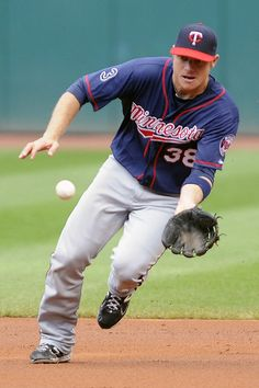 Luke Hughes puts my favorite things in one package: Aussie, Baseballl, Twins. HOT.