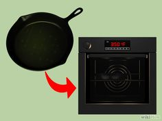 3 Ways to Season a Cast Iron Skillet - wikiHow