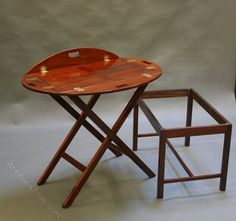 Nineteenth Century Butlers Tray Table - Antiques Atlas