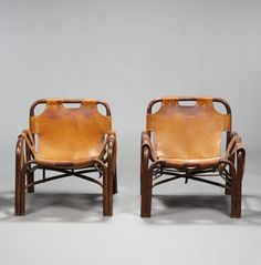 Pair of armchairs de