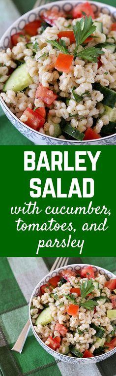 This Barley Salad wi