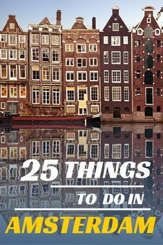 #Amsterdam, famous for its canals, the Red Lights District and the Coffee Shops... but this city can offer so much more things! Find its secrets in our list of suggestions! #Travel #Tips